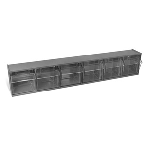 252188GY Medium 9 Drawer Storage Bin