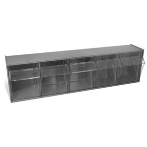 252189GY Large 5 Drawer Storage Bin