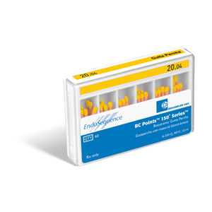 EndoSequence BC Points 150 Series 20/.04 Gutta Percha Points (60 Pack)