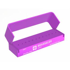 3DA622PURPLE Aluminum Bur Block 12RA