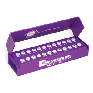 AS629PURPLE 24-Hole Clinical (FG or RA) with Silicone Inserts