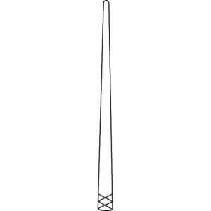GP55 Gutta Percha & Paper Points, Standard 55, Taper 02 (120 Pack)