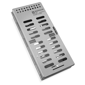 HINSTC05R  5-Count Cassette with Instrument Rack