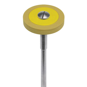 R17FLD.HP Dialite LD (Lithium Disilicate) Yellow Fine Wheel Extra-Oral
