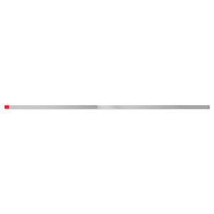 WS25F Fine Red Single Sided Narrow Diamond Strips (10 Pack)