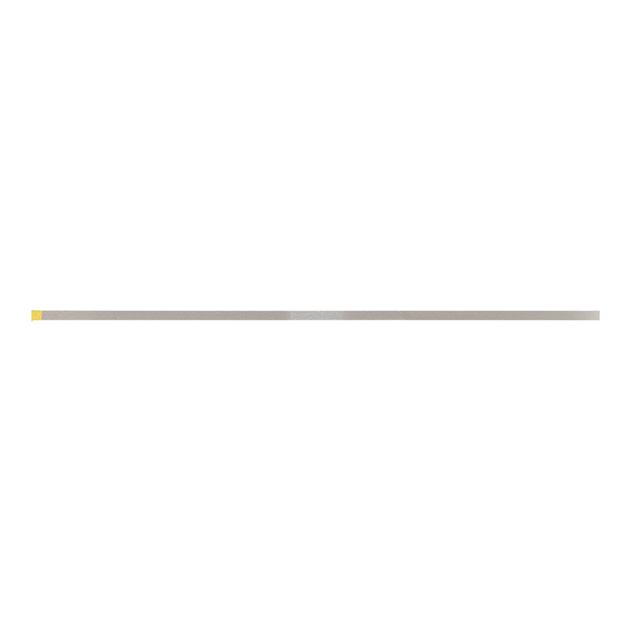 GF25EF Extra-Fine Yellow Single Sided Narrow Gateway Flex Diamond Strips (10 Pack)