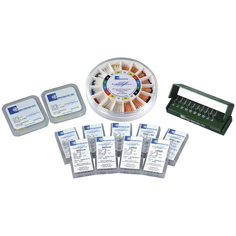 SEQ TRIAL Pack 06 EndoSequence NiTi Rotary File Trial Pack