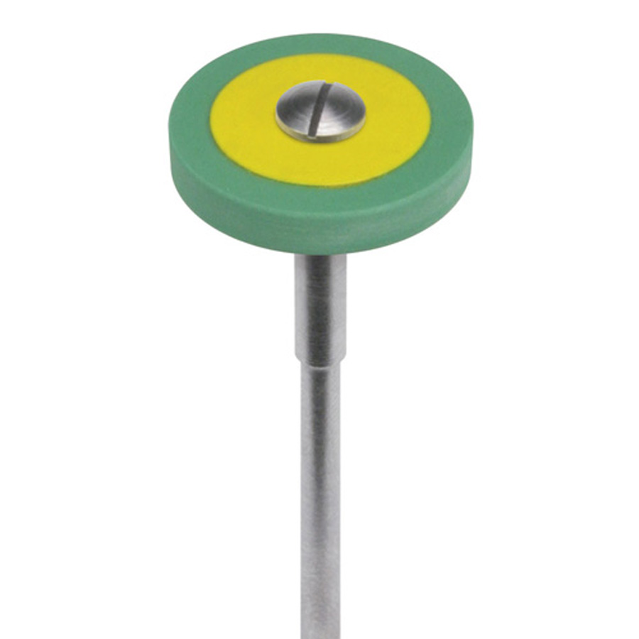 R17MZR.HP Dialite ZR (Zirconia)  Green Medium Wheel Extra-Oral