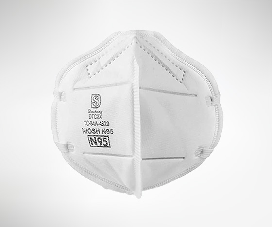 NIOSH-approved N95 Particulate Respirators