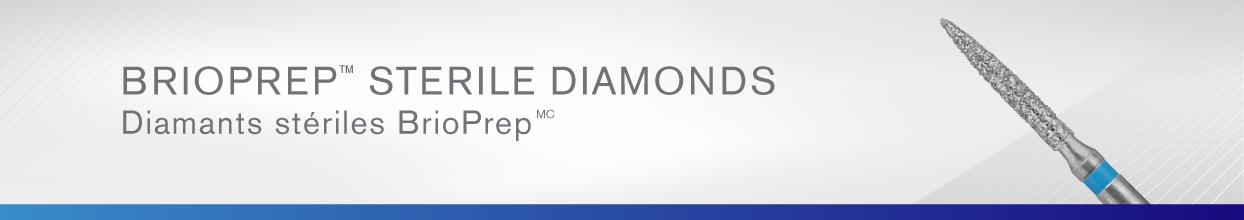 BrioPrep Sterile Diamonds