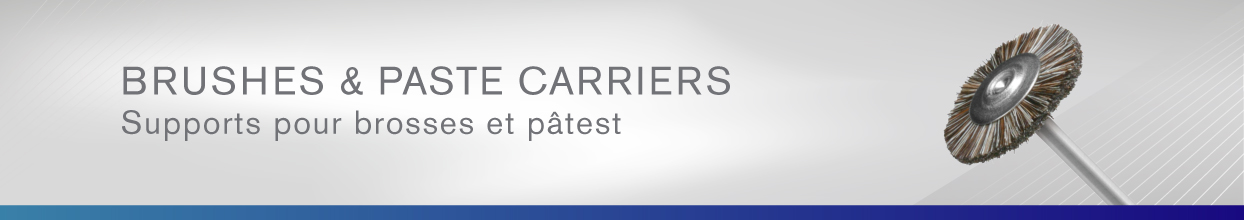 Brushed and Paste Carriers