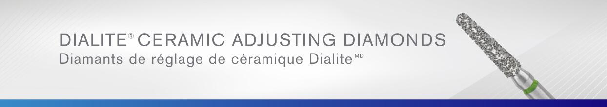 Dialite Ceramic Adjusting Diamonds