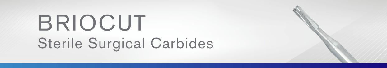 BrioCut Sterile Surgical Carbides | Brasseler USA