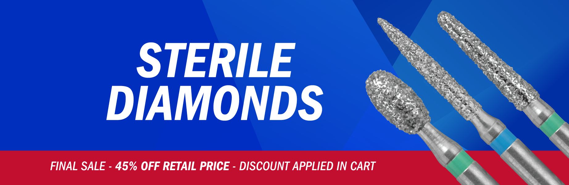 Sterile Diamond Burs from Brasseler USA