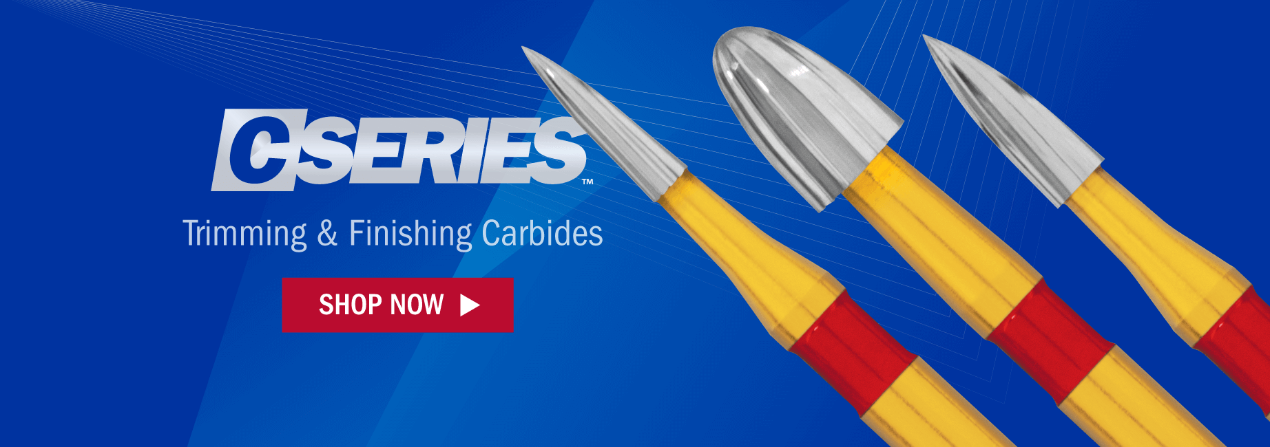 C-Series Trimming and Finishing Carbide Burs