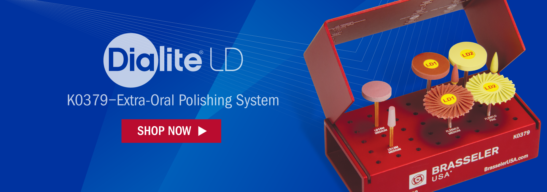 Dialite LD (Lithium Disilicate) Extra-Oral Adjusting and Polishing System