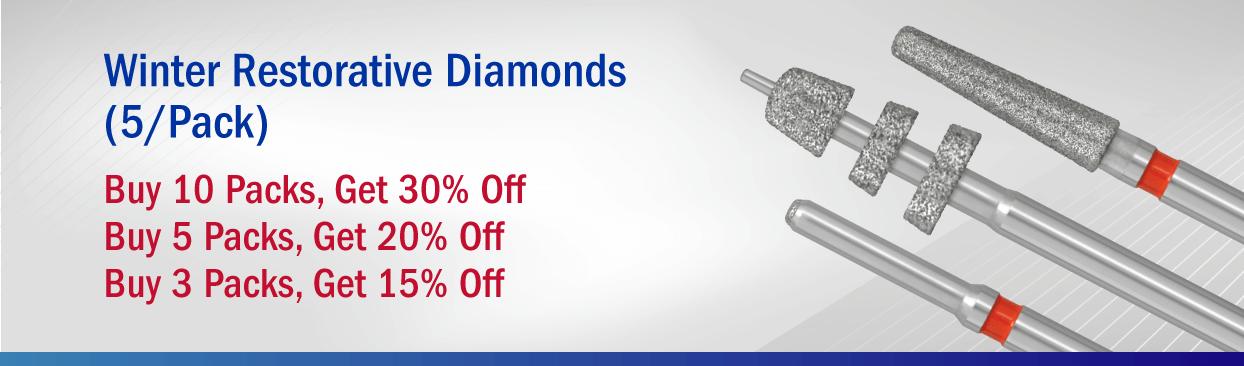 Winter Diamonds: Buy 3 Packs, Get 15% Off