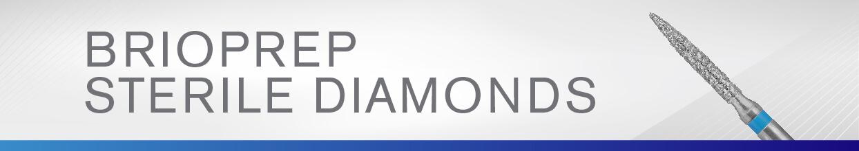 BrioPrep Sterile Diamonds from Brasseler USA
