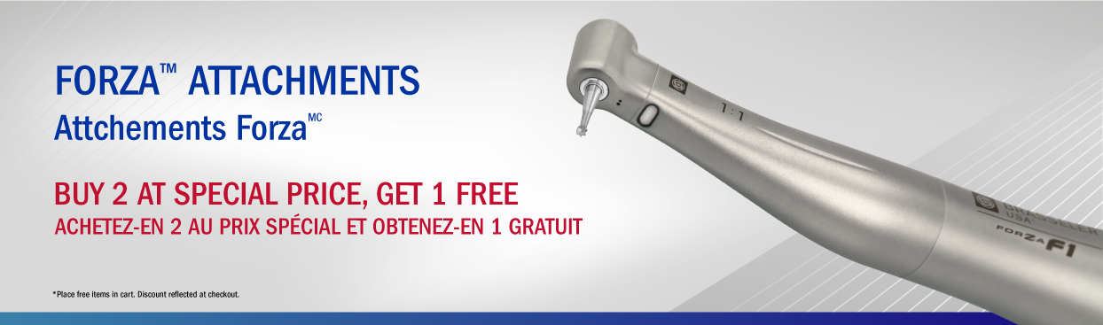 Forza Attachments Buy 2 ar the Special Price, Get 1 Free