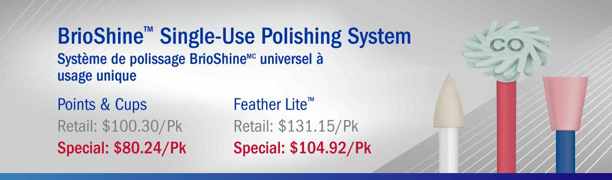 BrioShine Single-Use Polishing System