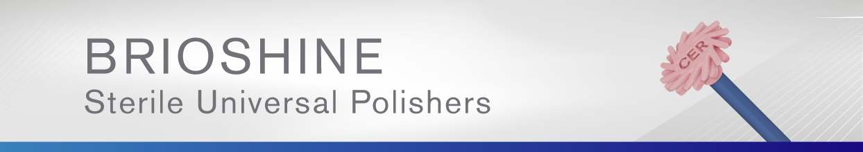 Brioshine Sterile Feather Lite Universal Polishers