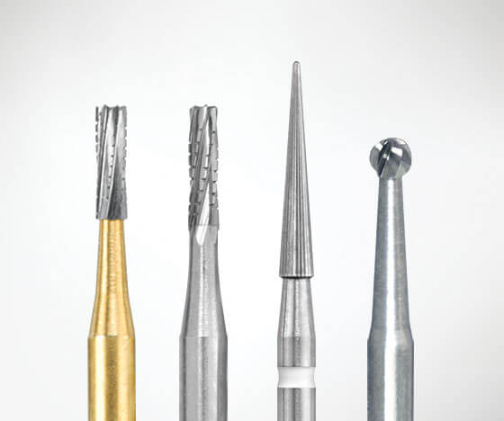 Dental Carbide Burs from Brasseler USA
